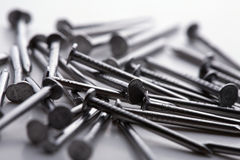 Bunch of nails Royalty Free Stock Photography