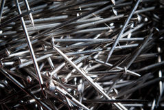 Bunch of nails Royalty Free Stock Image