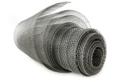 Net roll on white background royalty free stock images