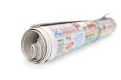 Bunch newspaper. Royalty Free Stock Photography