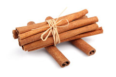 Free Bunch Of Cinnamon Sticks Isolated On White Stock Photo - 18634570