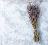 Bunch Of Dry Lavender Royalty Free Stock Photo