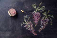 Free Bunch Of Red Grapes Stock Images - 71443704
