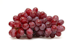 Free Bunch Of Red Grapes Isolated On White Stock Image - 14957891