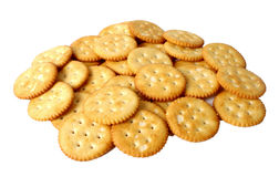 Free Bunch Of Salted Crackers Stock Photos - 13263693