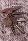 Bunch of old keys Stock Image