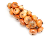 Bunch of onion Royalty Free Stock Image