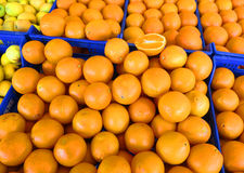 Bunch of oranges Stock Photo