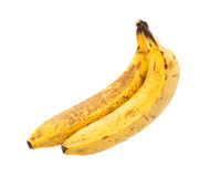 Bunch of over ripe bananas Stock Images