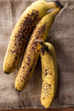 A bunch of overriped bananas Royalty Free Stock Photo