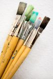 Bunch of Paint Brushes Royalty Free Stock Photography