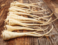 Bunch of parsnip Royalty Free Stock Image