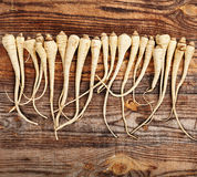 Bunch of parsnip Royalty Free Stock Photos