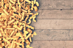 Bunch of pasta Stock Photos