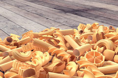 Bunch of pasta Stock Image