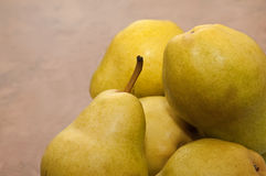Bunch of pears Stock Photos