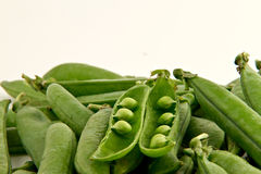 Bunch of peas Royalty Free Stock Photos