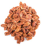 A Bunch Of Pecan Nut II Royalty Free Stock Images