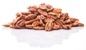 A Bunch Of Pecan Nut IV Royalty Free Stock Images