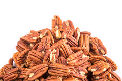 A Bunch Of Pecan Nut V Royalty Free Stock Photography