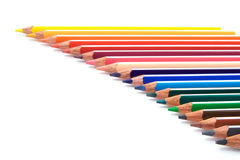Bunch of Pencils. A group of multicolored pencils Royalty Free Stock Photography