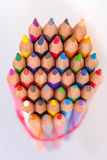 The bunch of pencils Royalty Free Stock Photography