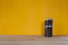 Bunch of pencils stylized tree branch. Stock Photo