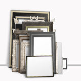 A bunch of photo frames Royalty Free Stock Photography