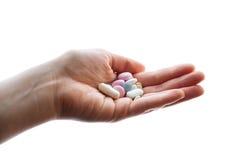 A bunch of pills Stock Photos