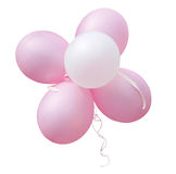 Bunch of Pink Balloons Stock Image