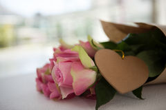 Bunch of pink roses Stock Images