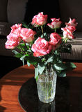 Bunch of  Pink Roses Royalty Free Stock Photography