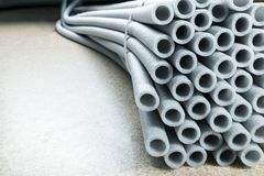 Bunch of pipes Royalty Free Stock Image