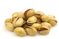 Bunch of pistachio nuts Royalty Free Stock Image