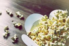 Bunch of popcorn box Stock Photography