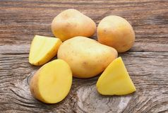 Bunch of potatoes Royalty Free Stock Photos