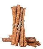A bunch pretzel rods Stock Images