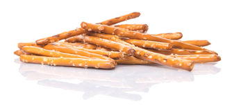 A Bunch Of Pretzel Stick I Royalty Free Stock Image