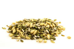 A bunch of pumpkin seeds Stock Image