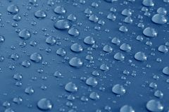 Bunch of rain drops Stock Photos