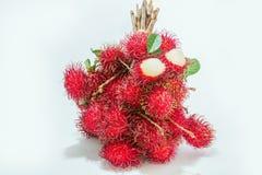 Bunch Rambutan fruit Stock Photography