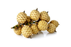 Bunch of rattan fruits on white Royalty Free Stock Photos
