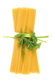Bunch of raw apaghetti Royalty Free Stock Photography