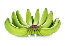 Bunch of raw bananas Stock Photos