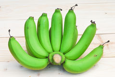 Bunch of raw bananas Royalty Free Stock Image