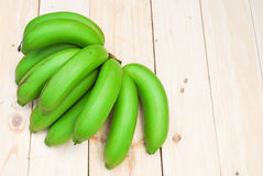 Bunch of raw bananas Stock Images