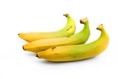 Bunch of raw organic bananas Stock Photos