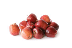 A bunch of red apples Stock Photos