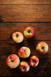 Bunch of red apples. Royalty Free Stock Image