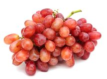 A bunch of red grape Royalty Free Stock Photography